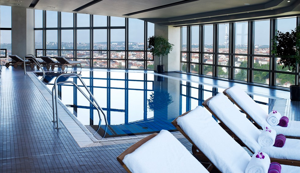 Corinthia Prague Spa swimming pool