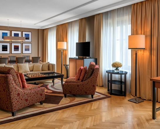 Corinthia St Petersburg Presidential Suite living room