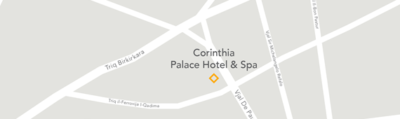 Corinthia Palace Map