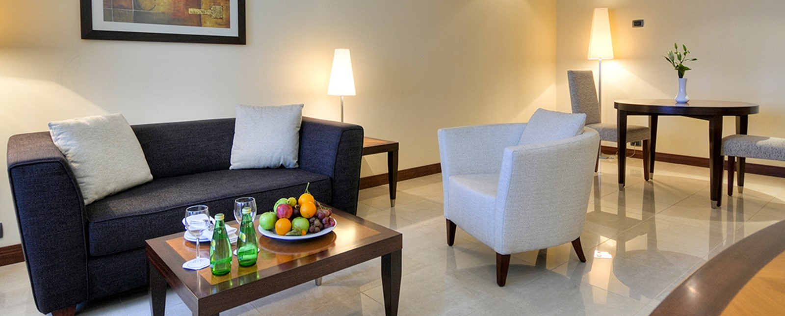 corinthia khartom executive suite living room